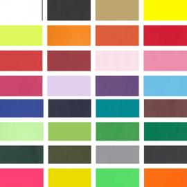 Flexfolie Standaard effen kleuren ca 5 m x 7 cm