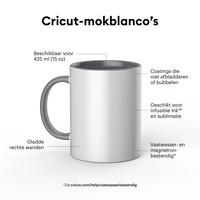Cricut Cricut Mugs White (Cricut Mokken) 340 ml - 2 stuks | 2007821
