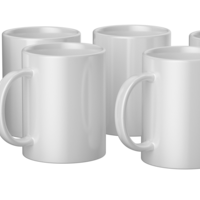 Cricut Cricut Mugs White (Cricut Mokken) 340 ml - 6 stuks   2008942