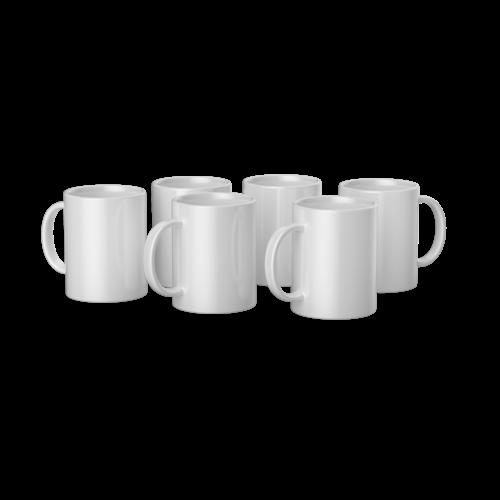 Cricut Cricut Mugs White (Cricut Mokken) 340 ml - 6 stuks | 2008942