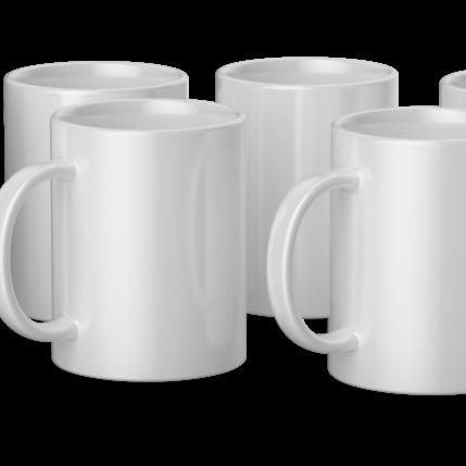 Cricut Cricut Mugs White (Cricut Mokken) 425 ml - 6 stuks | 2008944