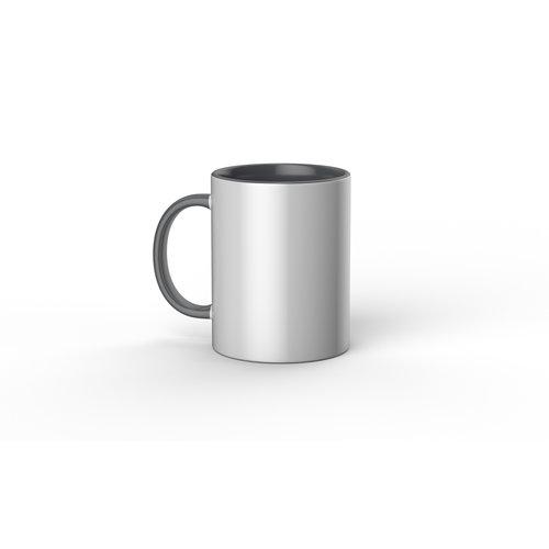 Cricut Cricut Mugs Grey/White (Cricut Mokken) 440 ml - 1 stuk | 2009330