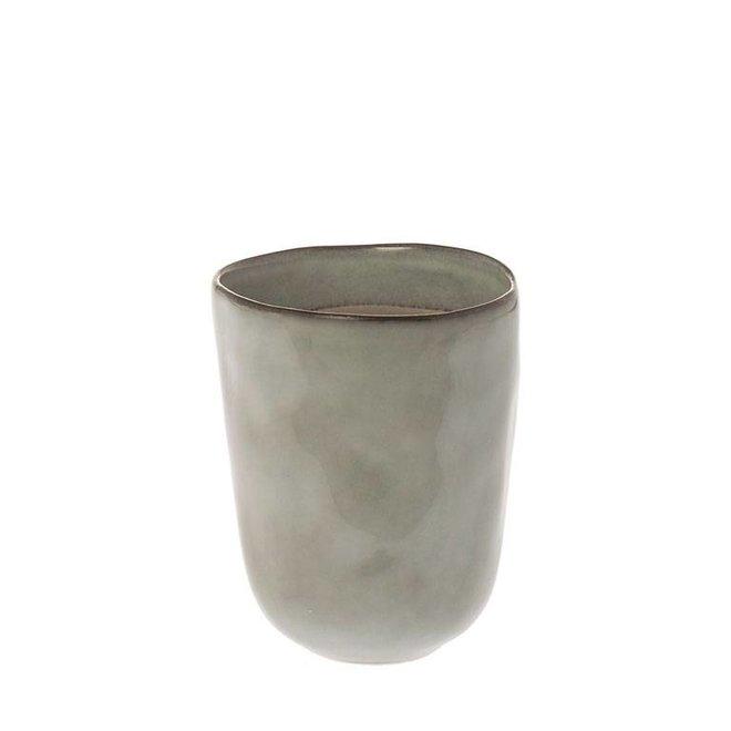 Mok Metz soft grijs 11cm