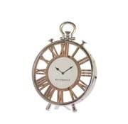 Riverdale Table clock Luton silver 40cm