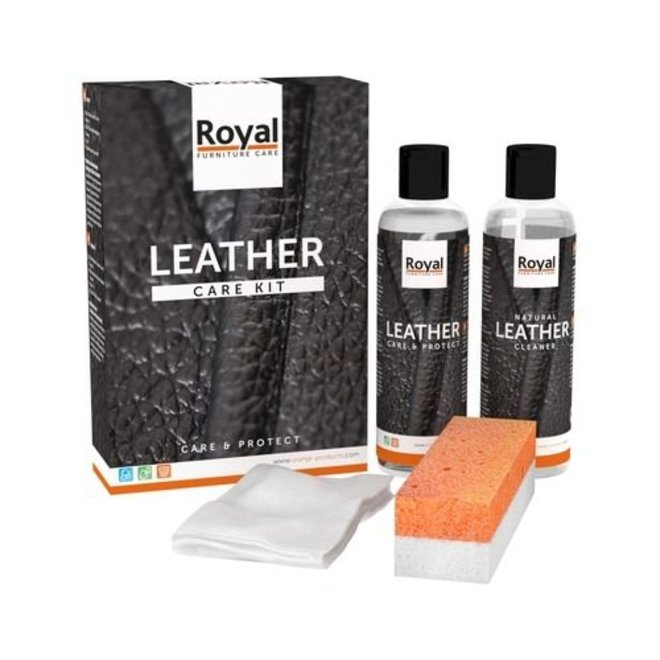 leather protection and maintenance set 2x75ml mini