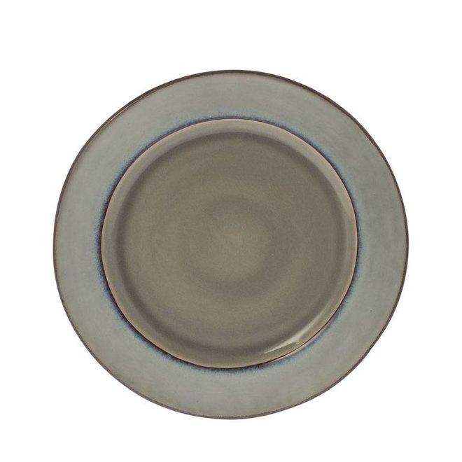 Ontbijtbord Metz soft grijs 22cm