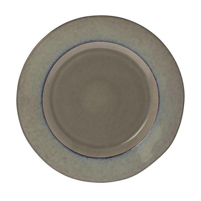 Riverdale dineer bord Metz soft grijs 28cm