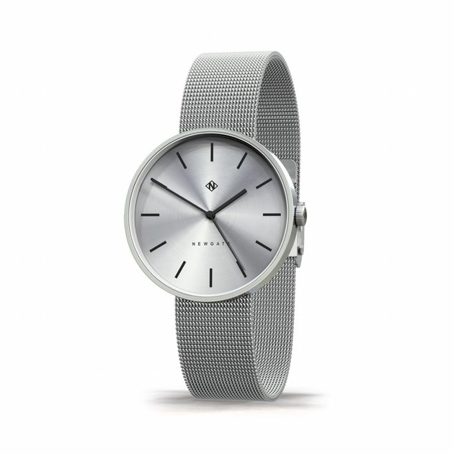 Horloge The Drumline zilver