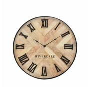 Riverdale Horloge Nate marron 46cm