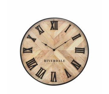 Riverdale Uhr Nate braun 46cm