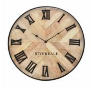 Riverdale Uhr Nate braun 60cm