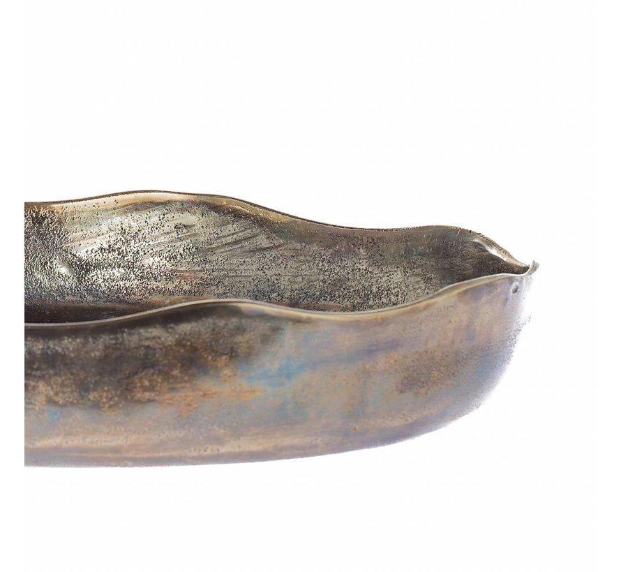 Schaal Oxford antiek goud 52cm