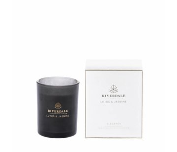 Riverdale Scented candle Elegance white 10cm