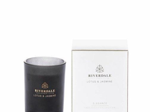 Riverdale Duftkerze Elegance weiß 10cm