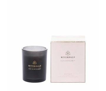 Riverdale Scented candle Boutique pink 10cm