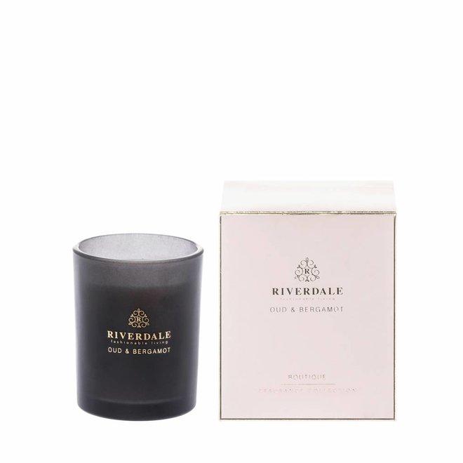 Bougie parfumée Boutique Rose Oud & Bergamot 10cm