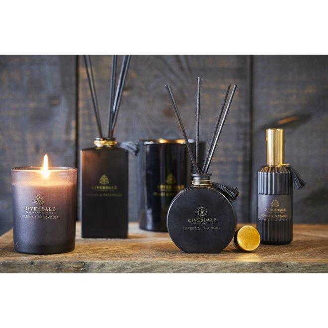 Geurstokjes Couture zwart Forest & Patchouli 90ml