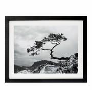 Riverdale Malerei Landschaft schwarz 40x50cm