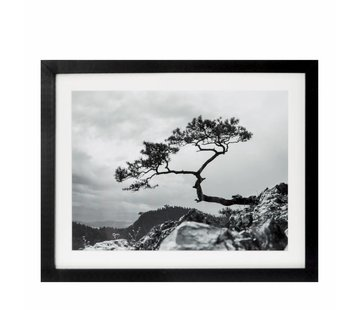 Riverdale Schilderij Landscape zwart 40x50cm