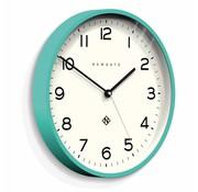 Newgate  Horloge murale numéro trois Echo aigue-marine