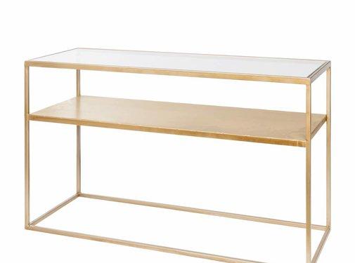 Riverdale Tisch Elano Gold 120cm