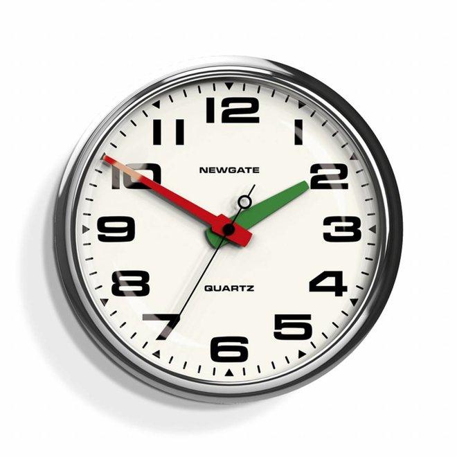 Die Brixton Uhr Chrom