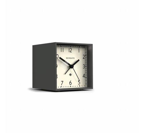 Newgate  The Cube wekker klok wit & grijs