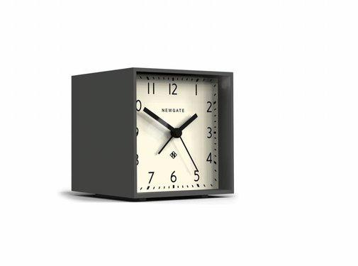 Newgate  Le réveil Cube blanc et gris