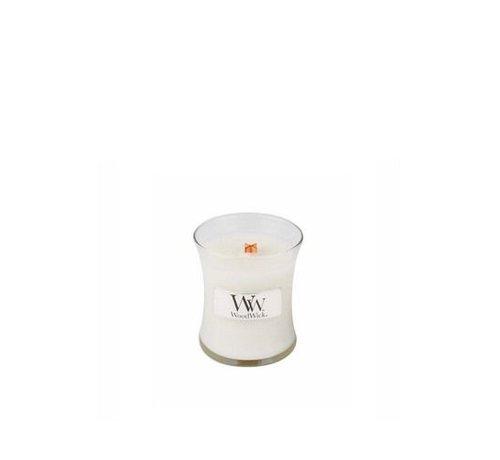 Woodwick Linen Mini Candle