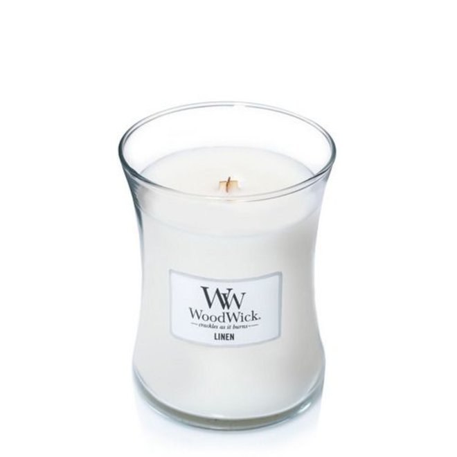 Linen Medium Candle