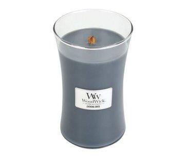 Woodwick Abend Onyx Große Kerze