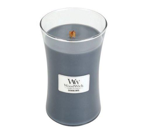 Woodwick Evening Onyx Large Candle