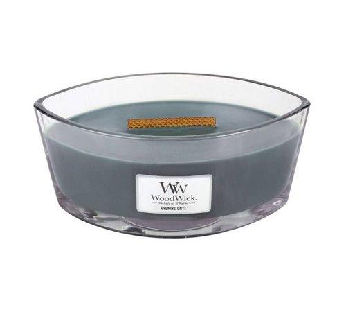 Woodwick Evening Onyx Hearthwick Ellipse Candle