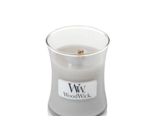 Woodwick Warm Wool Mini Candle