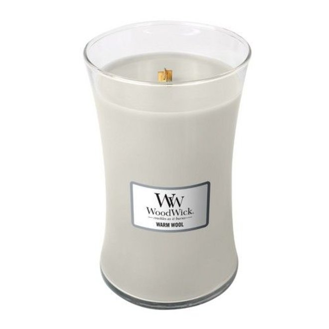Warm Wool Large Candle
