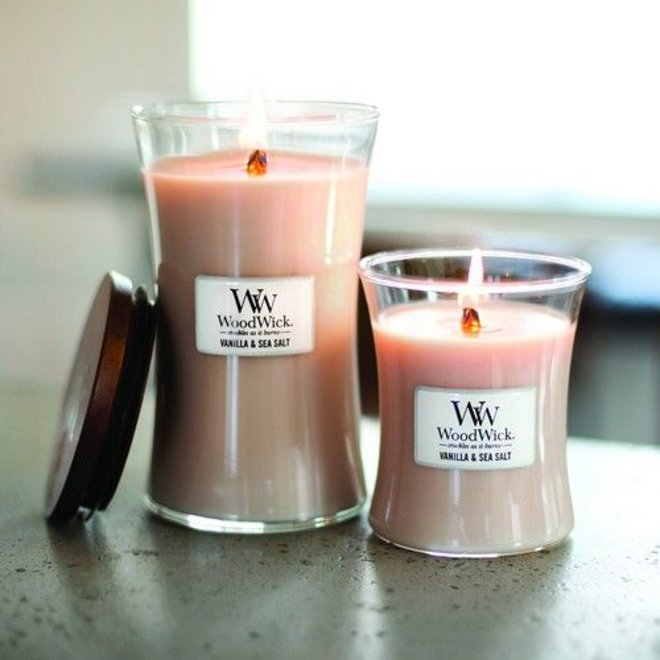 Vanilla & Sea Salt Medium Candle