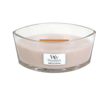 Woodwick Vanilla & Sea Salt Hearthwick Ellipse Candle