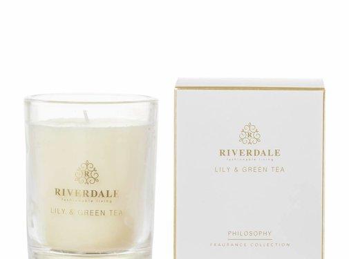 Riverdale Bougie parfumée Philosophie gris 10cm