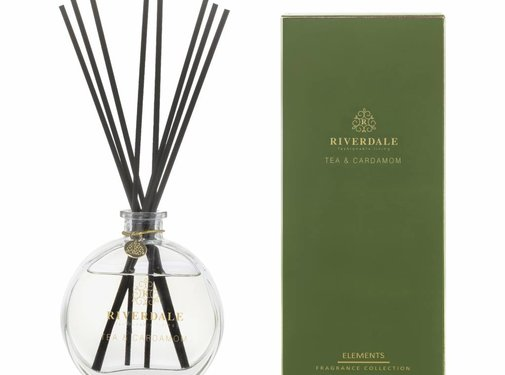 Riverdale Geurstokjes Elements groen 90ml