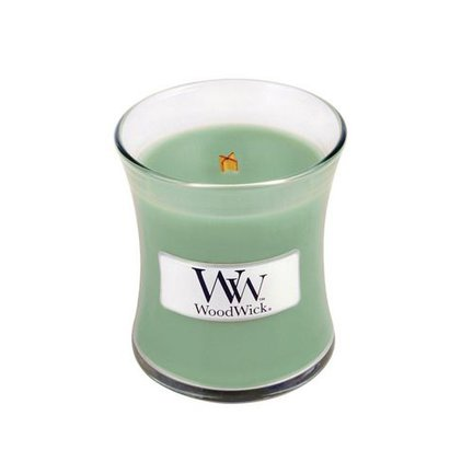 Woodwick weiße Weide Moss Candles