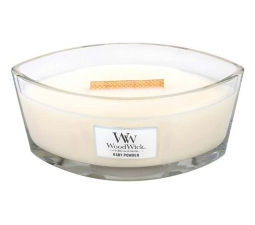 Woodwick Hearthwick ellips kaars