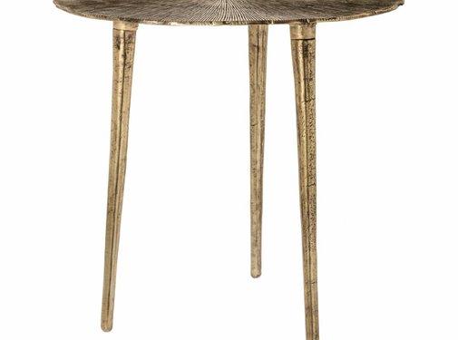 Riverdale Beistelltisch Phyllon gold 50cm