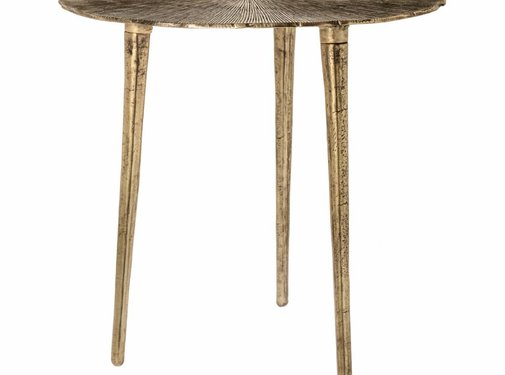 Riverdale Side table Phyllon gold 50cm