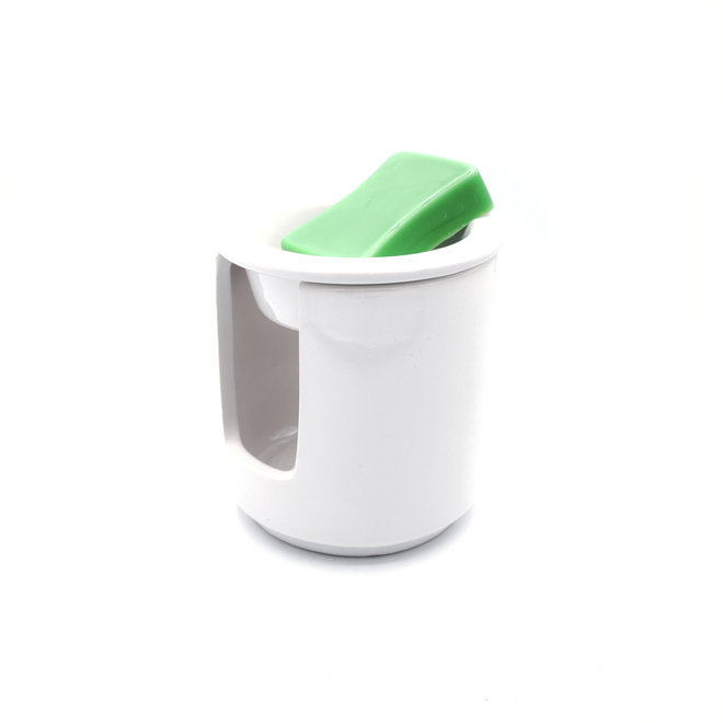 Wax melt burner ceramic white