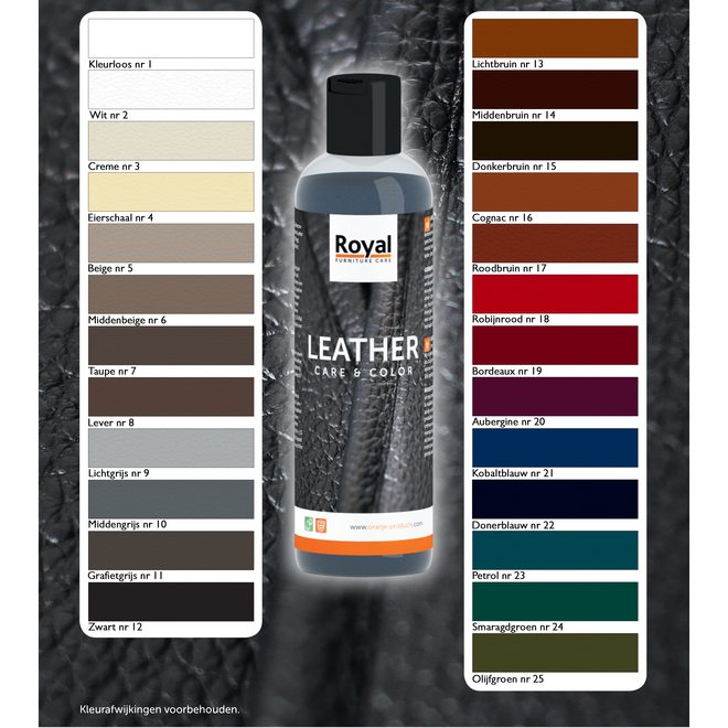 Lederpflege & Farbe