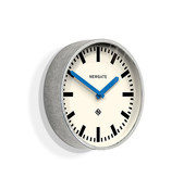 Newgate  The Luggage wall clock blue