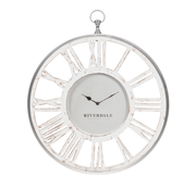 Riverdale Chuck white wall clock 60 cm