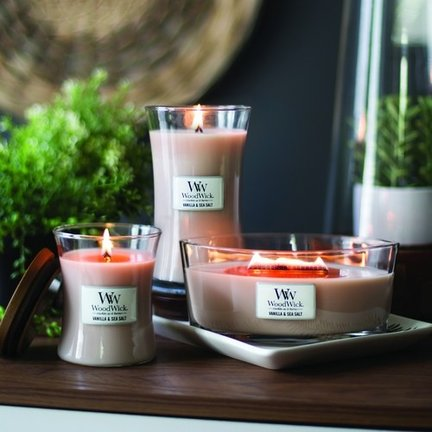 Woodwick scented candles
