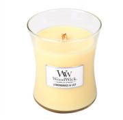 Woodwick Zitronengras & Lily Mini Kerze