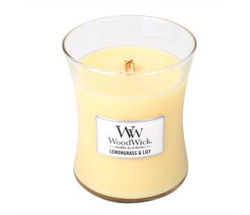Woodwick Lemongrass & Lily Mini Candle
